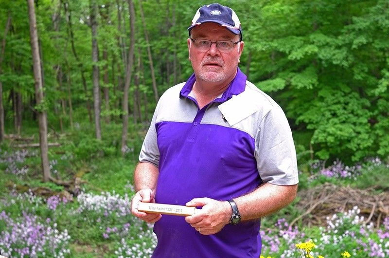 Blake Axtell '75 spread his father, Silas Axtell '52's ashes at The Lodge per his father's request.