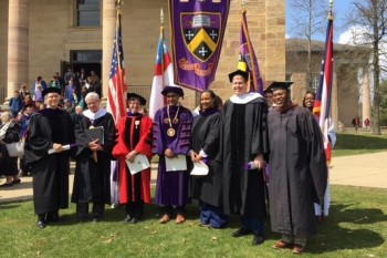 Delts Awarded at Honors Day Celebration