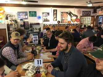 Annual Steak Dinner Caps Busy, Fun-Filled Rush Week For Chi