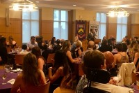 Kenyon College President Decatur Addresses Packed House
